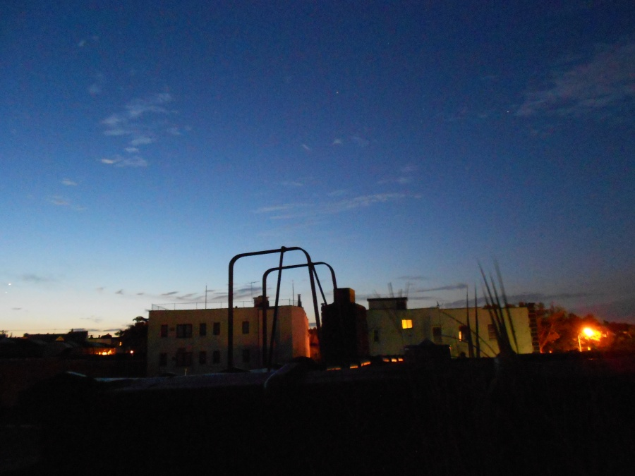 Worked All Night Sunrise