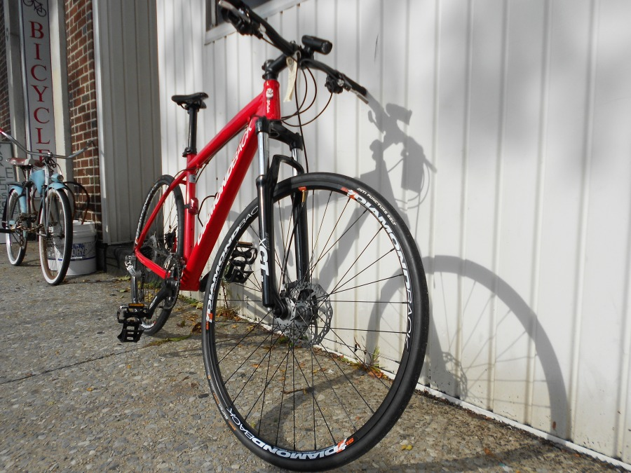 Fast Tire Upgraded Bike turns the Hardtails into FAST Urban conversion!