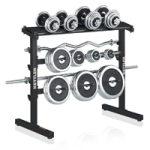 KETTLER DUMBBELL & BARBELL RACK